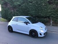 Fiat 500 Abarth 2011 in Grey