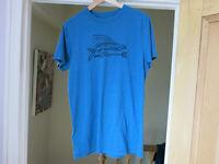 Men's medium Patagonia Tshirt - Underwater Blue Flying Fish design (US import)_