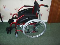 fenetic self propeld wheelchair