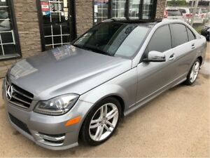 2014 Mercedes-Benz C-Class C300 4Matic ***Panoramic Sunroof***