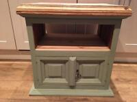 Solid Pine TV Cabinet Newly Restored