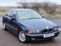 BMW E39 528i SE Auto Saloon, 199k Miles, MOT: July 2018, 2 Owners, Biarritz Blue, * Trade To Clear *