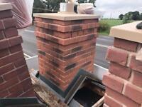 ☃️Smart Stack Brick Effect Single Pot Chimney