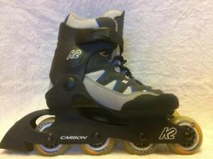 LIke NEW K2 Ascent Inline Skates (Rollerblades) 72mm/78A Womens Size 6