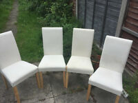 Set of 4 dining room tables. £30