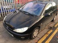 Peugeot 206 no mot. spares or repair