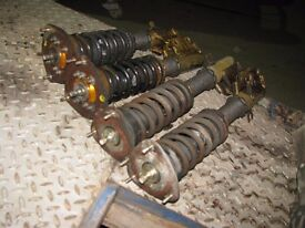 Subaru Impreza WRX Sti Bugeye Blobeye Coilover Suspension Kit