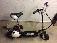 Petrol scooter zipper 49cc