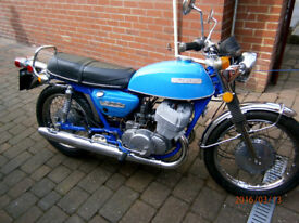 T500 Suzuki 2 stroke 1975 rebuilt