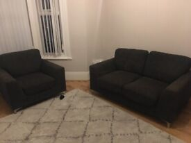 Free Two Seater Sofa and Arm Chair