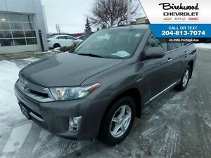 2012 Toyota Highlander Hybrid Limited 4X4   LEATHER   SUNROOF