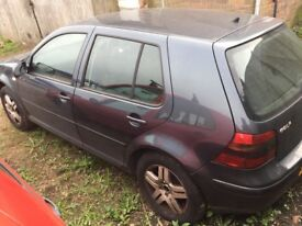 VW Golf GT TDI 130bhp 2003 for breaking. Many parts available