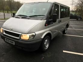 2005. Ford Tourneo. GLX PSI 8-9 seater mini bus swb full service history NO VAT.