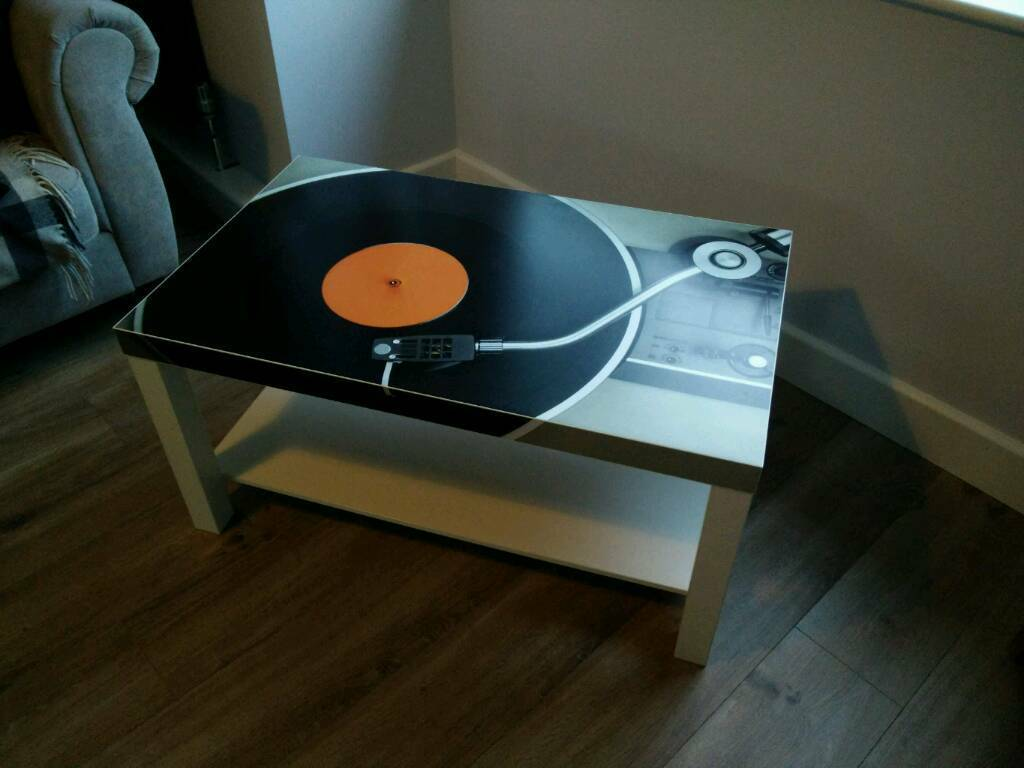 Vinyl record coffee table in liverpool merseyside gumtree vinyl record coffee table geotapseo Images