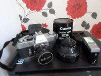 Canon ex auto camera and accessories