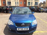 Volkswagen polo 2005 1.4 petrol low mileage full service history good condition