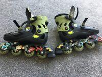 Ben 10 roller skates