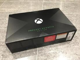 Xbox One X - PROJECT SCORPIO Limited Edition (all retailers sold out/no longer available to buy new)