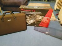 Pioneer DDJ-RR DJ Controller boxed + Decksaver cover + UDG carry case ** RRP £715 **