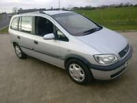 2003 zafira 2.0 dti diesel 7 seater family car or workhorse dont miss !!!!