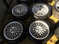 "17"" GENUINE ALFA ROMEO MITO SPARK ALLOY WHEELS SET OF 4"