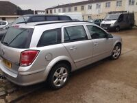Vauxhall Astra estate Silver