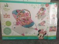 Minnie Mouse Peek-A-Boo Baby Rocker