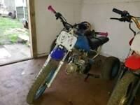 100cc Pit trike pit bike swap