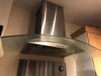 Stainless steel, chimney, extractor fan