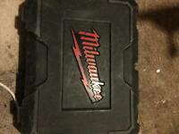 Milwaukee 18v drill case.