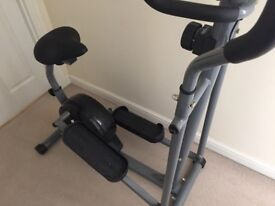 2 in 1 Cycle and Cross trainer