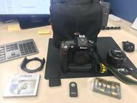 Nikon D90 with accessories