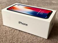 IPHONE X 64gb SPACE GREY FACTORY UNLOCKED, BOXED IN PRISTINE CONDITION & 7 MONTHS WARRANTY rrp £999