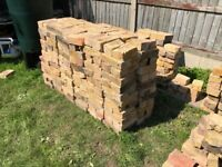 Reclaimed yellow bricks, good and clean