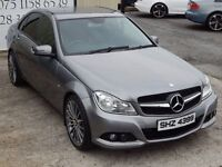 2012 MERCEDES-BENZ C220 CDI SE BLUEEFFICIENCY 4DR SALOON (FINANCE & WARRANTY AVAILABLE)