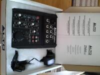 Alto professional compact 5 channel mixer no ZMX 52