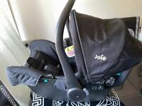 Joie infant car seat with isofix base