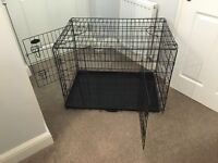 """Large dog cage 26""""x35"""""""