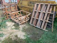 Free! Pallets and crates