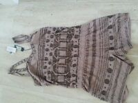river island playsuit size 10