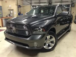 2016 Ram 1500 SPORT.MAGS 20''.CUIR.BLUETOOTH.ATTACHE REMORQUE.