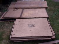 Large selection of packing crates FREE to collector