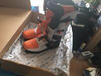 Motcross boots size 10