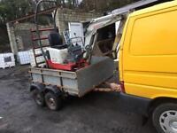 Car trailer plant 6ftx5ft