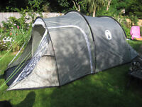 Coleman coastline 3 plus tent used once. Inner lining groundsheet attached excellent condition