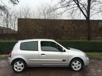 RENAULT CLIO 1.2 EXTREME 05 REG SILVER MOT AUGUST 2018 PRESENT OWNER 7 YEARS LOW INSURANCE 48+ MPG