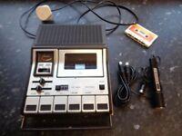 Vintage 1970's Grundig CR485a Stereo Cassette Player