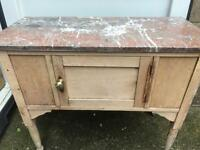 Marble top wash stand FREE DELIVERY PLYMOUTH AREA