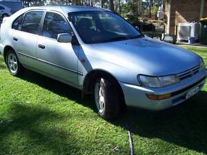 1994 Toyota Corolla Hatchback CHEAP CAR LOW 81000 KLMS 5 SPEED Seaham Port Stephens Area Preview