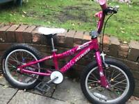 Specialized Hot Rock 16 Girls Bike Age 6-9